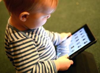 çocuk, tablet